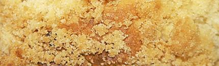 Crumb kuchen cake, or Polish placek.