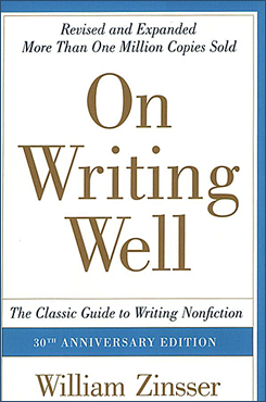 "Book cover, ""On Writing Well."""