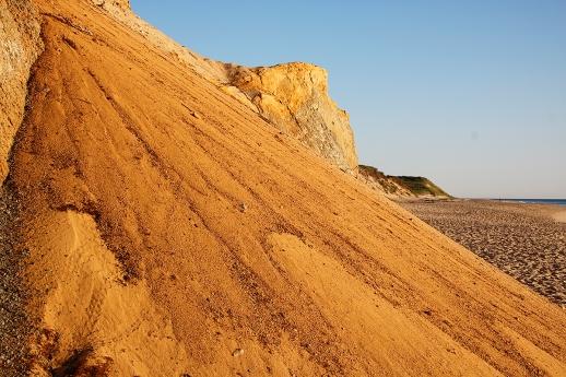 Coastal scarp cliffs, Lecount Hollow Beach, Wellfleet, Cape Cod, MA. ©Patrick J. Lynch, 2017. All rights reserved.